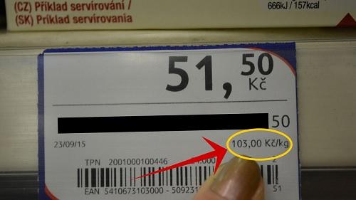 přepočet kg 1