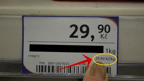 přepočet kg 2